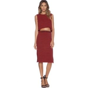 Lovers and Friends Set Tank Skirt XS Revolve A118